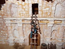 1:32 Alamo Painted Plastic Soldiers and Wood & Plaster Buildings