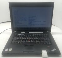 Lenovo Thinkpad T500 Core 2 Duo P8400 2.26GHz 4GB - NO HDD, Os, Batt. (0TS)