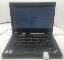 Lenovo Thinkpad T500 Core 2 Duo P8400 2.26GHz 4GB - NO HDD, Os, Batt. (0TS)