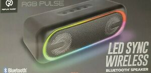 LED SYNC Wireless Bluetooth Speaker Sound Bar RGB LED Computer Desktop/ Boombox