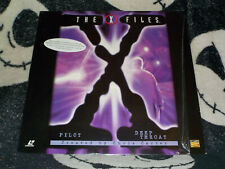 X-Files Pilot/ Deep Throat Laserdisc LD Free Ship $30