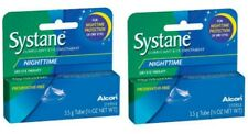 Systane Nighttime - SET OF (2) 3.5g Lubricant Eye Ointment, Overnight EX 2020!