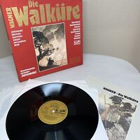 JANOWSKI Wagner Die Walkure 5 LP Box Set 301 143-465 German 1981 Eurodisc M058