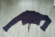 Gilet court violet NICO taille 12 ans