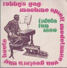 "Robby`s Gag Machine (Robby Schmitz) Dandy Rag, Comic) 70`s Fidulafon 7"" EP"