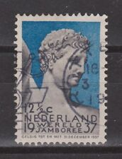 NVPH Netherlands Nederland nr 295 used 1937 Wereled Jamboree Vogelenzang