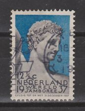 NVPH Netherlands Nederland nr 295 used 1937 Wereled Jamboree Vogelenzang