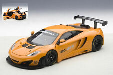 McLaren 12C Gt3 Presentation Car Orange 1:18 Model AUTOART