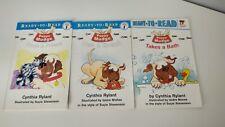 Puppy Mudge by Cynthia Rylant Books Set of 3