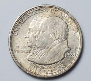 1923 S Monroe / Adams Commemorative Half Dollar - Silver US Coin - lot E