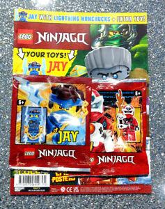 LEGO NINJAGO MAGAZINE ISSUE #75 ~ 2021 ~ NEW WITH JAY & KAI MINIFIGURES ~
