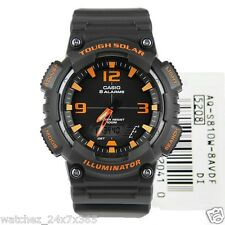 Casio Tough Solar  Men's Watch  AQ-S810W-8AV Chronograph, Alarm, Timer, & More