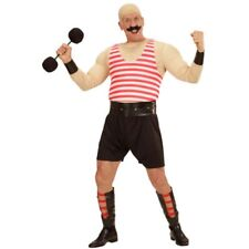 Victorian-Circus-Stag Night STRONGMAN Tash-Barbell Complete Outfit Sml-XXXXL