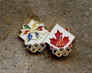 NOC Canada Team 1998 Nagano  OLYMPIC Games Pin LOGO