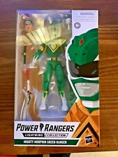"Power Rangers Lightning Collection 6"" Mighty Morphin Green Ranger New Tommy A2"