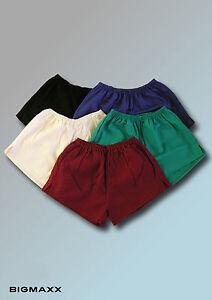 DDR Turnhose Sporthose Herren Shorts Nostalgie Freizeithose in 5 Farben Gr 5-18