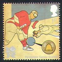 GB 2010 Sports/Olympics/Olympic Games/Goalball/Disabled/Paralympics 1v (b7810j)