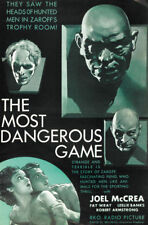 The Most dangerous game Joel McCrea movie poster #21