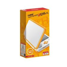 [Korean Version] Nintendo 2DS XL - White + Orange * Brand new Ready to ship