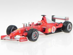Ferrari F2002 F1 Michael Schumacher modelcar 54618 Mattel 1:43