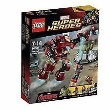 Lego 76031 Super Heroes Avengers The Hulk Buster Smash Brand New MISB Iron man