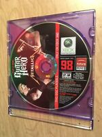 Guitar Hero: Metallica (Microsoft Xbox 360, 2009) Disc Only Rare