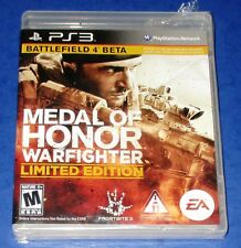 Medal of Honor: Warfighter-Limited Edition PS3 *New! (Torn Cellophane) Free Ship