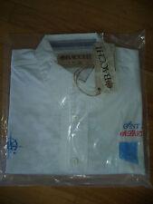 ST MAARTEN TO ST BARTH REGATTA  XXL Bacchi Mens shirt WHITE DRESS CASUAL LS