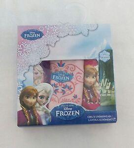 BNIB Frozen Girl Brief Set - 3 Pieces - Fully Licensed