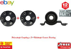 Cente Bearing +  Driveshaft TailShaft Couplings Commodore VX VY VZ VE V8 Pair
