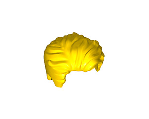 NEW LEGO - Figure Hair - Male - Swept Left Tousled Yellow - 41239 The Flash