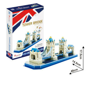 Cubic Fun - 3D Puzzle Tower Bridge London England Medium