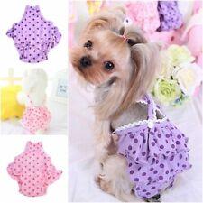 Pet Sanitary Panties Puppy Dog Diaper Underwear Short Pants Adjustable Strap