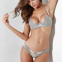 Lingerie Underwear Bralette Lace Top Bralet Bustier Women Corset Set Bra Crop