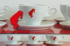 JULIUS MEINL Servizio 6 Tazze Cappuccino Bar PORCELLANA CLUB HOUSE Caffè