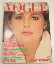 Vogue Magazine April 1st 1978