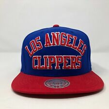 Los Angeles Clippers Mitchell And Ness Snapback Hat A14