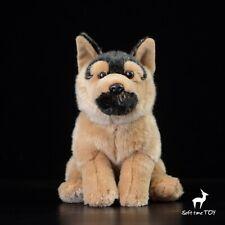 German Shepherd Dog Simulation Animal Doll Stuff Plush Toy Birthday Gift