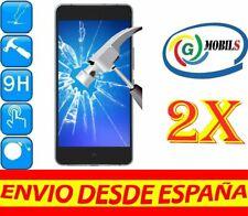 2x PROTECTOR PANTALLA CRISTAL TEMPLADO BQ AQUARIS X5 Plus PROTECTORES >2uds