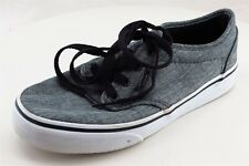 VANS Gray Fabric Casual Shoes Boys Shoes Size 2