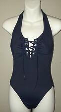 converse black halter one-piece bathing suit size XS
