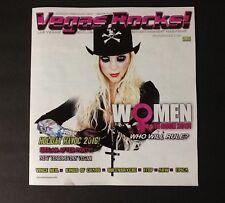 MARIA BRINK IN THIS MOMENT Vegas Rocks Magazine #137 - VINCE NEIL MOTLEY SIXX AM