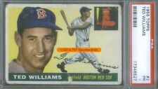 1955 Topps 2 Ted Williams PSA 1 (6527)