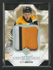 2014-15 Ultimate Collection Debut Threads Seth Griffith 055/100 Rookie Patch