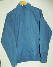 Casual Joe Blue Haband Lined Polyester Lite Waterproof Jacket Small
