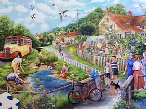 SUMMER BY THE STREAM 250 XL PIECE GIBSONS JIGSAW USED