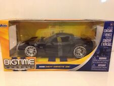 JADA 91183 BIGTIME MUSCLE 2006 CHEVY CORVETTE Z06 - BLACK - 1:24 SCALE