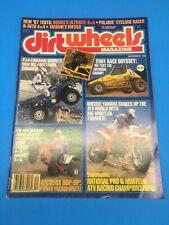 DIRT WHEELS MAGAZINE DEC. 1986 HONDA ATC 350X, FOREMAN 4X4 YAMAHA BW200 POLARIS