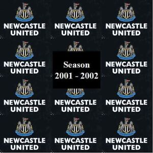 Programme Newcastle United Football St Jame's Park Home Games 2001 2002 Various