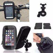 """Motorbike Motorcycle Bike GPS SAT NAV Case Bag Mount Holder Waterproof 5"""" / 6"""""""